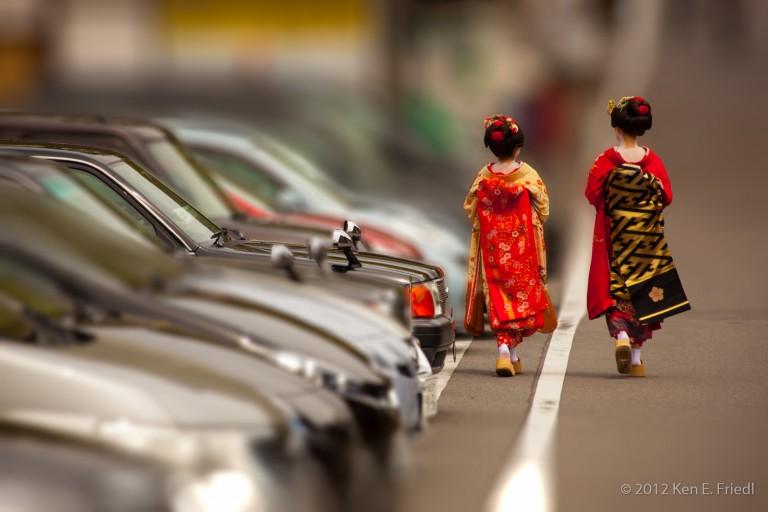 Geishas@Kyoto