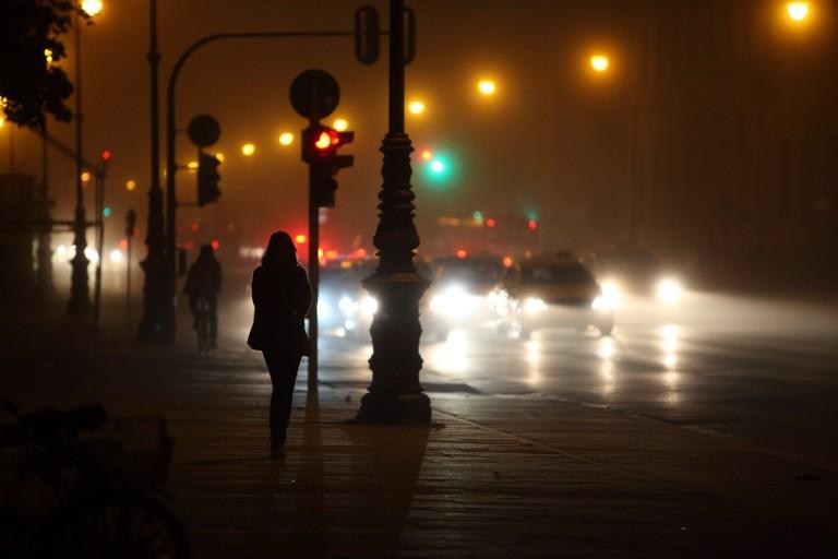 Foggy Munich@Night