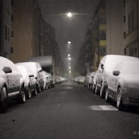Snow at Night
