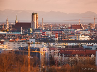 Munich at Dawn