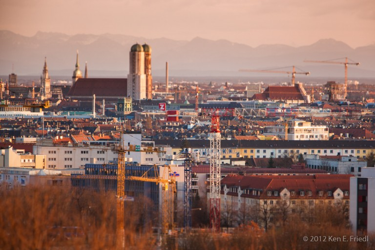 Munich at Dawn