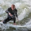 Fighting the Waves@Eisbach, Munich