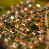 Bavarian village from the Sky